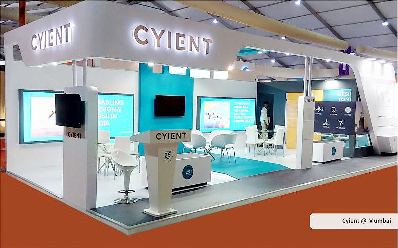 cyient booth design