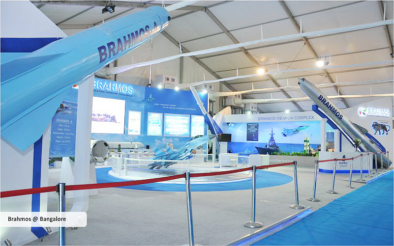 brahmos trade show displays