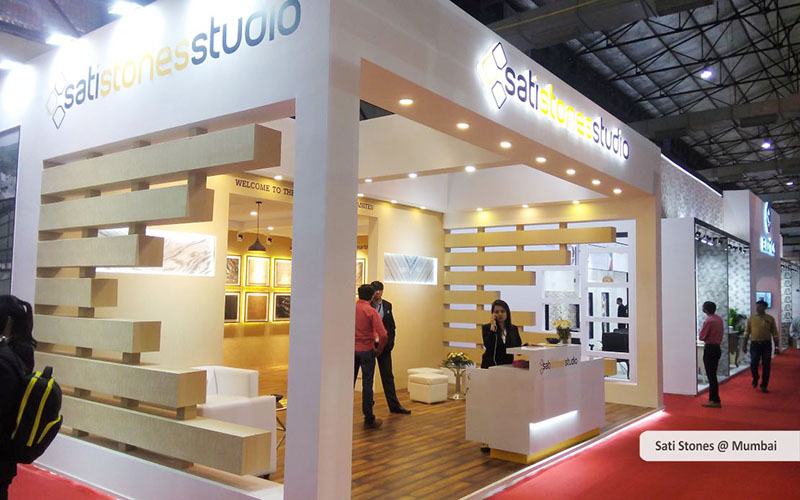 sati stones custom exhibition