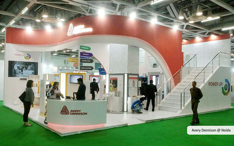 avery dennison booth design