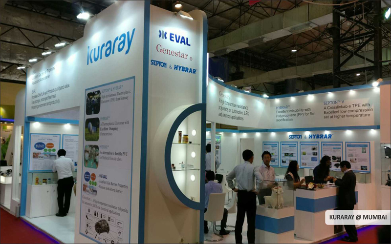 Kuraray exhibition booth