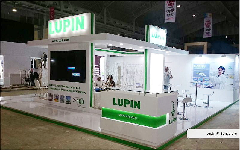 lupin trade show displays