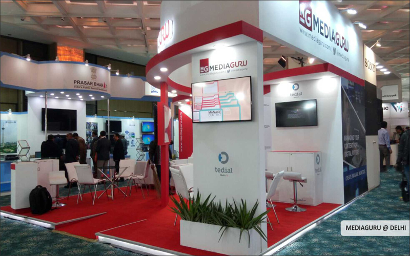 Mediaguru booth design