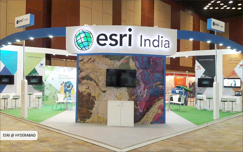 esri India booth design