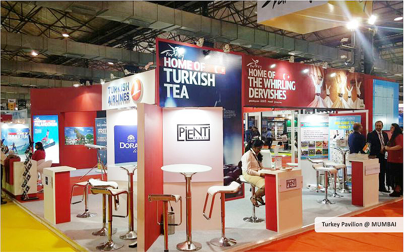 turkey pavilion trade show