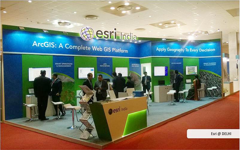 esri india trade show displays