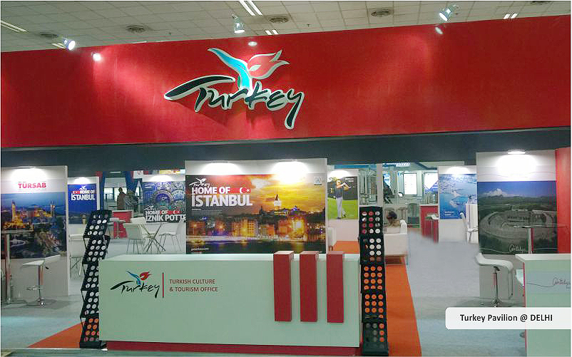 turkey pavilion booth design