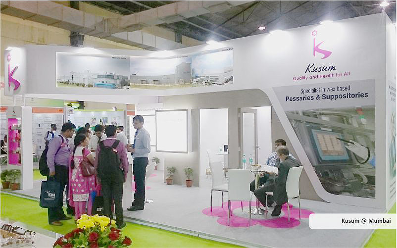 kusum booth design