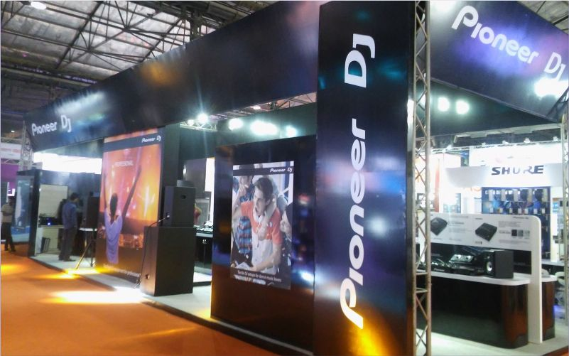 pioneer booth